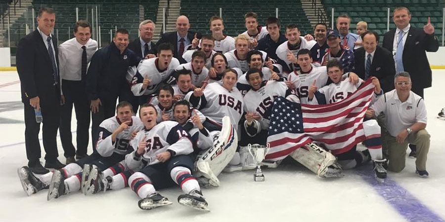 Generals Staff Helps USA Hockey Add To Trophy Case