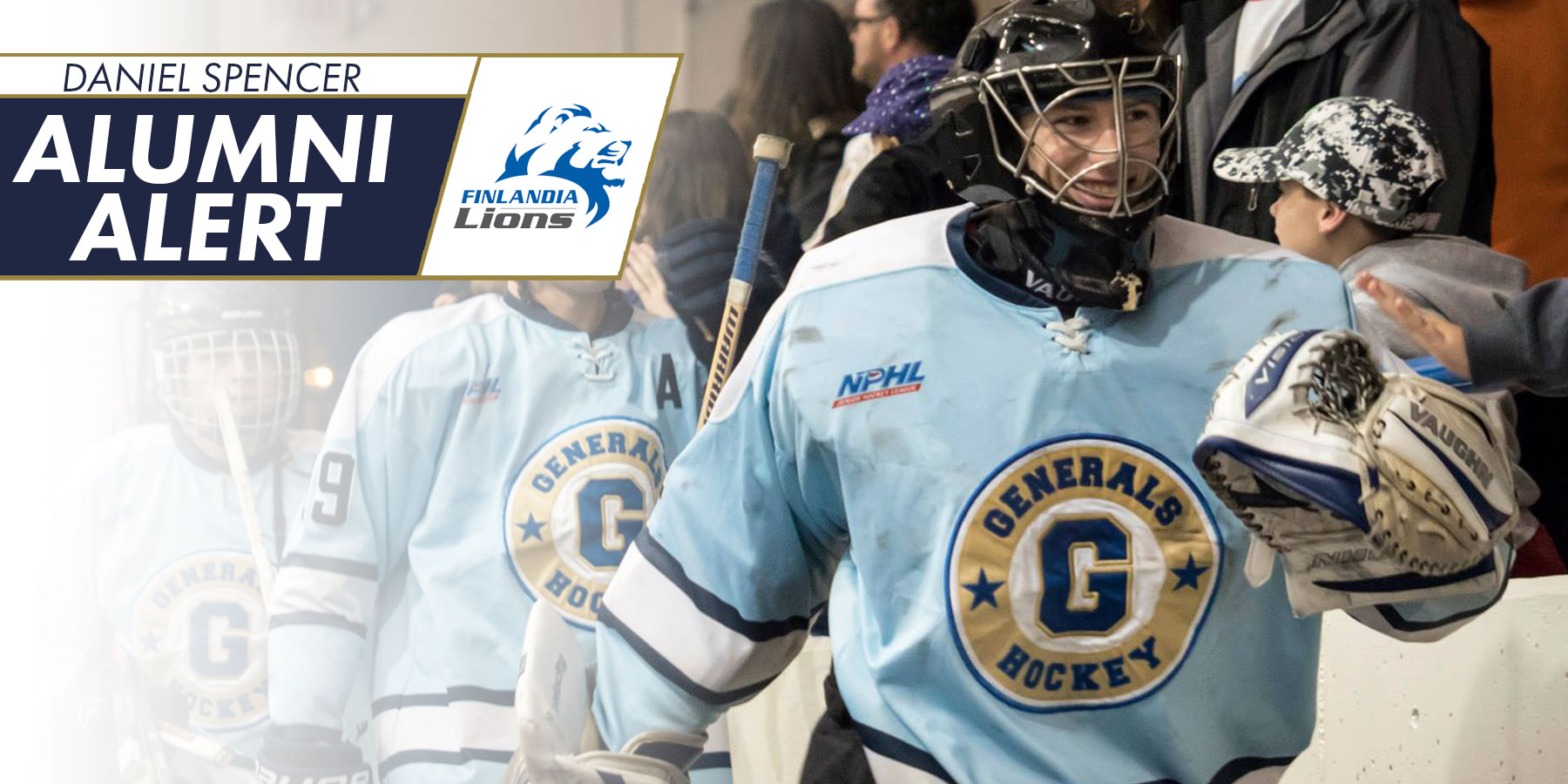 Spencer Named To NCHA All-Academic Team