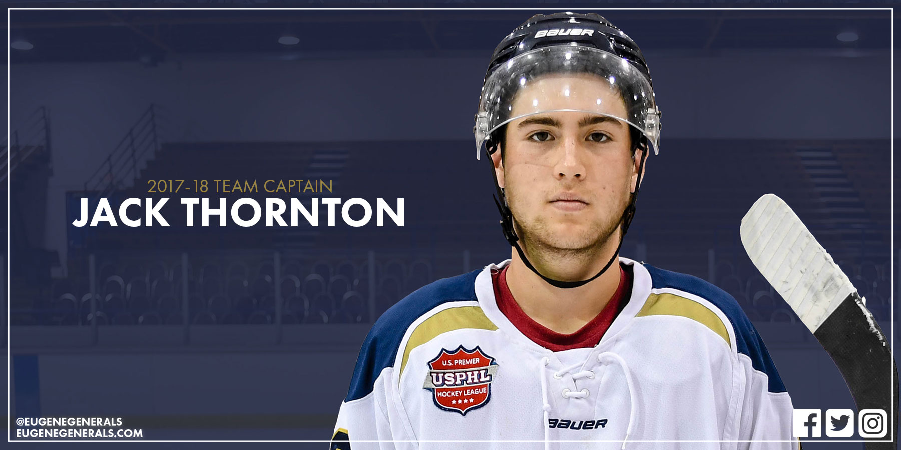 Jack Thornton Named Team Captain